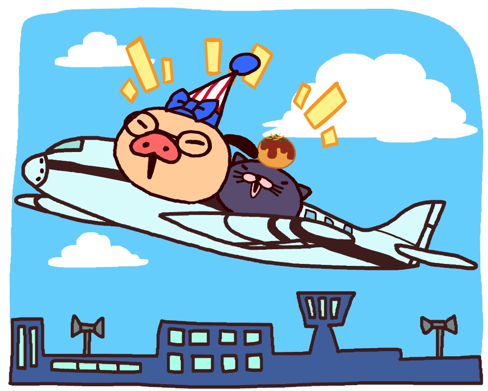 関空夏まつりにパンパカパンツが登場!