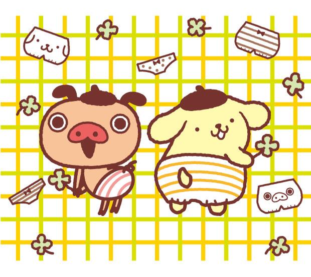 【8/1(火)~】東急ハンズ池袋店にて「ポムポムプリン」×「パンパカパンツ」グッズが登場!