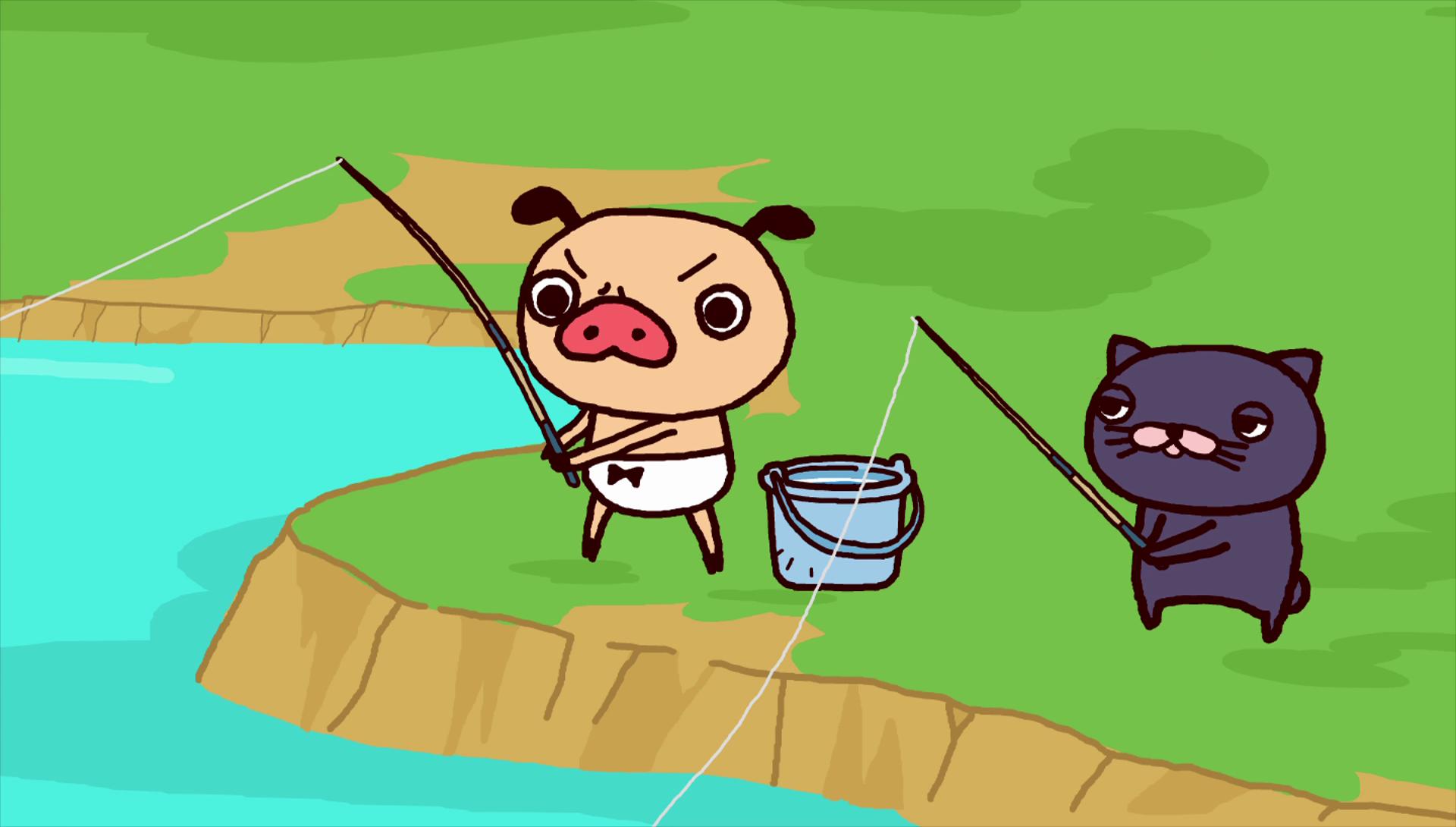 第16話「パンツガ池のヌシ」